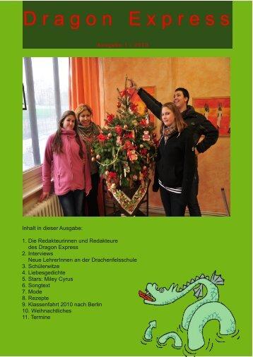 Ausgabe Dezember 2010 - Drachenfelsschule