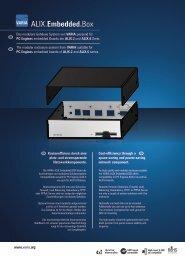 Datesheet / info broschure Embedded Box - Varia-Store