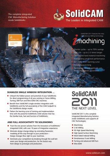 SolidCAM brochure (PDF)