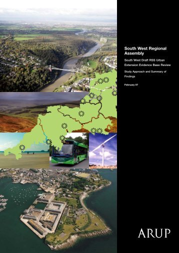 South West Draft RSS Urban Extension Evidence Base Review