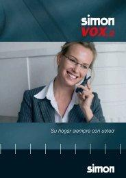 Catálogo de SimonVOX