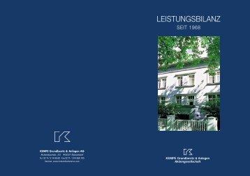 LEISTUNGSBILANZ - Alfahosting