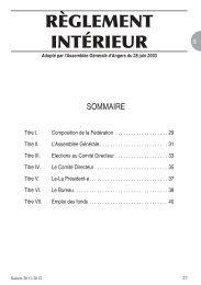 Annuaire 2011 2012 .indd - BERTRAND - Avocat Droit du Sport