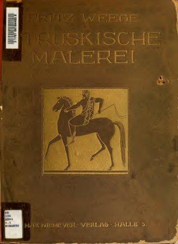 Etruskische Malerei