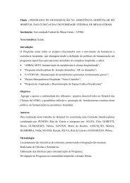 Programa de Humanização na Assistência Hospitalar do ... - PRAC