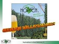 Hopfenlieferungsvertrag - Verband Deutscher Hopfenpflanzer e.V.