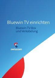 Bluewin TV einrichten - Swisscom Online Shop