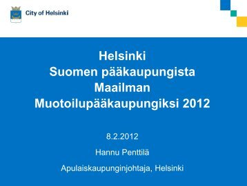 Hannu Penttilä: Helsinki