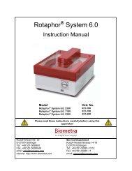 Rotaphor System 6.0 - Biometra