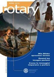 Wie Bilder sprechen lernen Quand les images ... - Rotary Schweiz