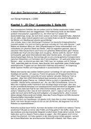 """Kapitel 1: """"El Che"""" (Leseprobe 3, Seite 44) - Sonni"""
