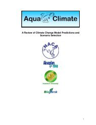 A review of climate change model predictions and scenario ... - Library