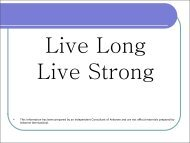 Live Long Live Strong - Beaty Nation | Arbonne | Pure and Safe Health