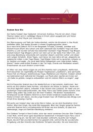 Snatam Kaur Bio Der Name Snatam Kaur bedeutet ... - Klang der Stille