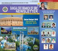 Blore Br_Feb_10_Covers.pmd - Bangalore Branch of SIRC