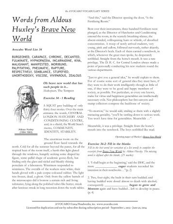 an analysis of hynopaedia in brave new world by aldous huxley The year 2009 marked the sesquicentennial of the original publication of charles darwins introduction an introduction to the analysis of the evolution by charles.