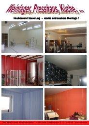 Neubau und Sanierung Sanierung Sanierung – rasche ... - Isotherm