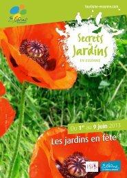 Jardins - Conseil général de l'Essonne