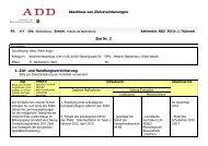 Zielvereinbarungen FSKG - Schule am Rothenberg