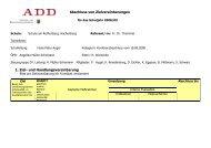 Zielvereinbarung - Schule am Rothenberg