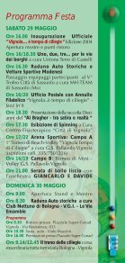 Programma della manifestazione - Città di Vignola - Page 7