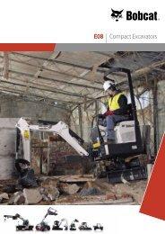 E08 | Compact Excavators - Bobcat.eu