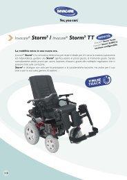 Invacare® Storm3 / Invacare® Storm3 TT - Ortopedia Paoletti