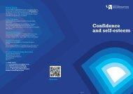 Confidence and self-esteem - University of Wolverhampton