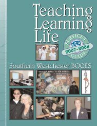 SWBOCES Services Guide for 2007-2008 Available Online