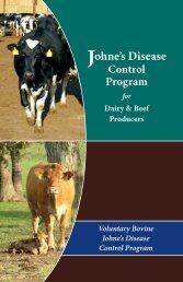 Voluntary Bovine Johne's Disease Control Program