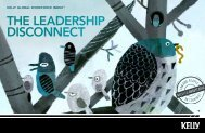 The leadership disconnecT - Kelly Services