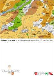 GeoLog 2004 - Geologischer Dienst NRW - Landesregierung ...