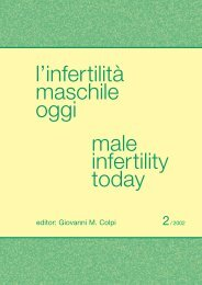 l'infertilità maschile oggi male infertility today
