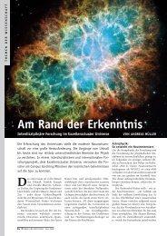 Am rand der erkenntnis - Universe Cluster