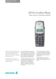 DT292 Cordless Phone - CPG