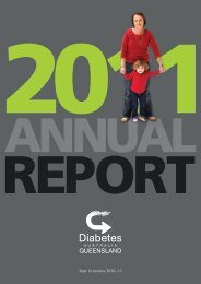 2011 Annual Review - Diabetes Queensland