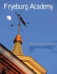 Viewbook Download - Fryeburg Academy