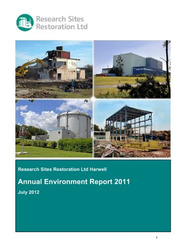 RSRL Annual Environment Report 2011.pdf - Research Sites ...