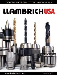 Tempered Steel Llambrich CE 5-6 Ejecting Drift #5 and #6 Morse Taper