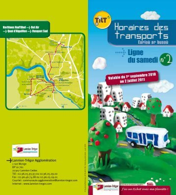 Lannion-Trégor Agglomération Valable du 1 er septembre 2010 au ...