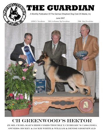June 2007 Guardian - German Shepherd Dog Club of Atlanta