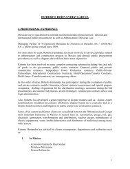 ROBERTO HERNANDEZ GARCIA - The Dispute Board Federation