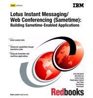 Lotus Instant Messaging/ Web Conferencing ... - IBM Redbooks