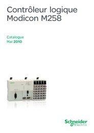 Contrôleur logique Modicon M258 - e-Catalogue - Schneider Electric