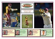 October 2007 - Queensland Cricket