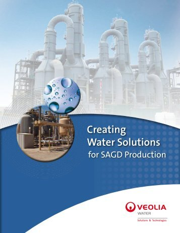 Creating Water Solutions for SAGD Production Brochure
