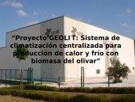 """""""Proyecto GEOLIT: Sistema de climatización centralizada ... - Altercexa"""