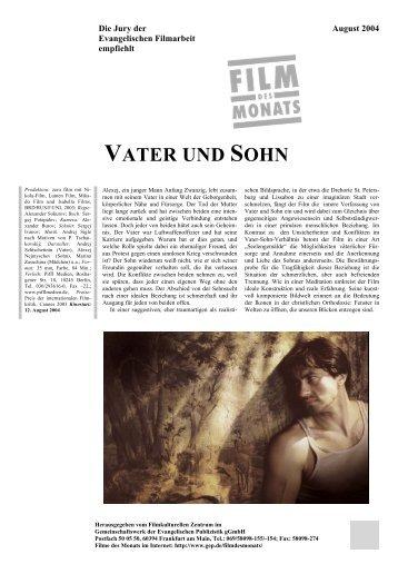 VATER UND SOHN - Film des Monats