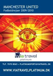 MANCHESTER UNITED - VIA Travel