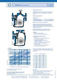 RIFOmat Float-Controlled Trap PN 16/25 - Rifox-Hans Richter GmbH